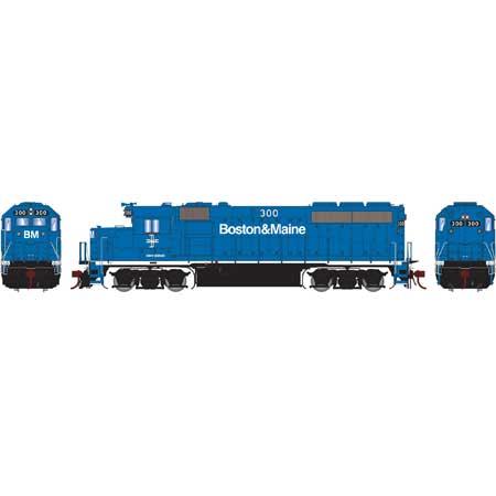 Athearn Genesis G65060 - HO GP40-2 Diesel - DCC Ready - B&M #300