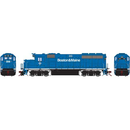 Athearn Genesis G65161 - HO GP40-2 Diesel - w/DCC & Sound - B&M #310