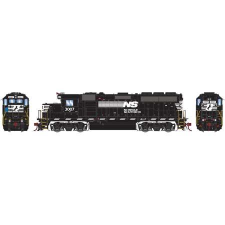 Athearn Genesis G65063 - HO GP40-2 Diesel - DCC Ready - NS #3007
