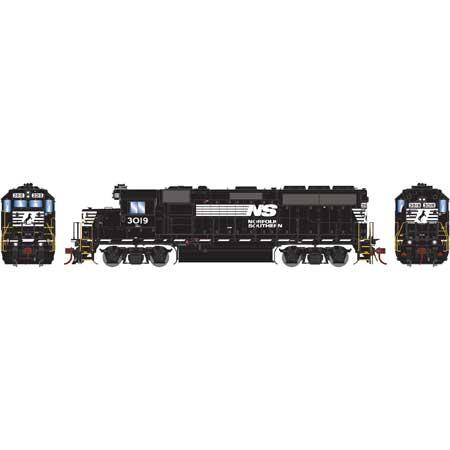 Athearn Genesis G65164 - HO GP40-2 Diesel - w/DCC & Sound - NS #3019