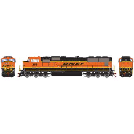 Athearn Genesis G70550 - HO SD75M Diesel, DCC Ready, BNSF/Late Heritage #273