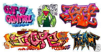 T2 Decals HOGRAF046 - HO Graffiti Decals - Set #46