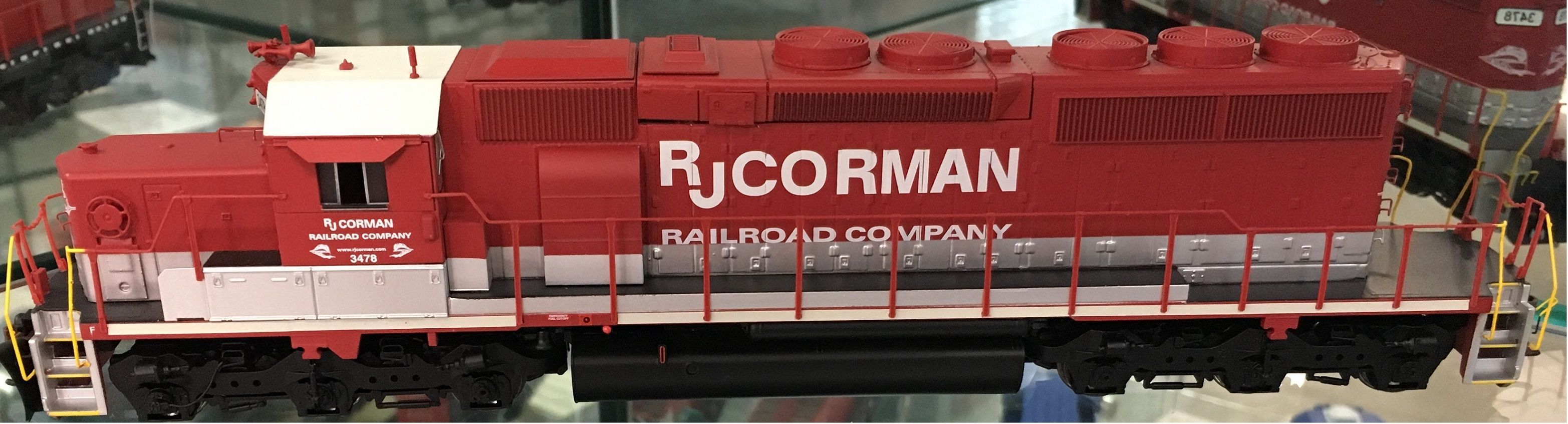 Athearn 71616 HO RTR SD40-2, RJ Corman DCC and Sound #7116
