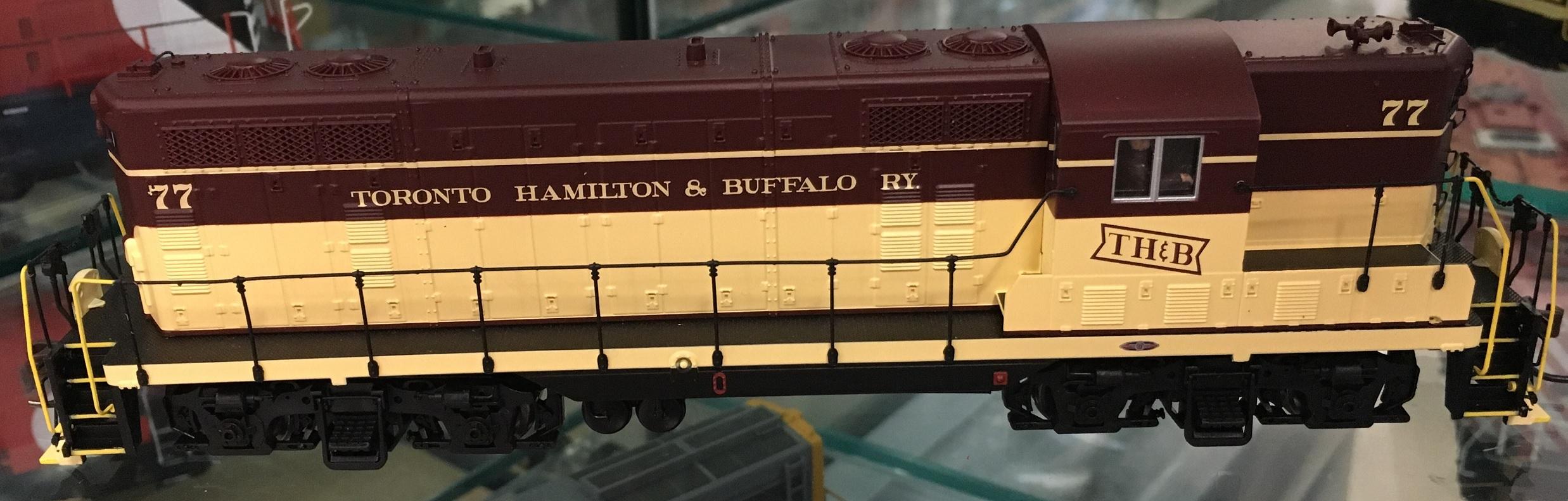 Atlas 10002984 HO - Master Line GP-7 - DCC Ready - Toronto, Hamilton & Buffalo #72
