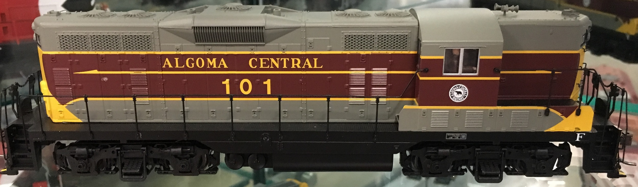 Atlas 10002922 HO - Master Line GP-7 - DCC/Sound - Algoma Central #103