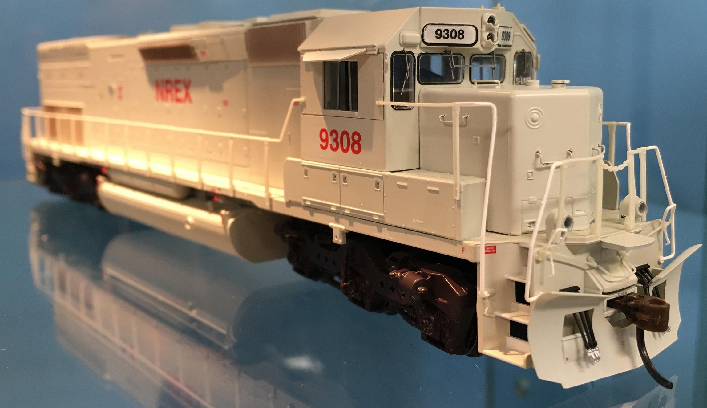 Athearn 86712 RTR HO - SD45T-2 DCC Ready - NREX #9308
