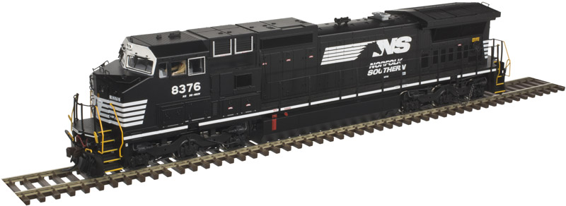 Atlas 10 002 306 HO Dash 8-40CW Locomotive Gold - ESU LokSound & DCC - Norfolk Southern (Horsehead) #8408