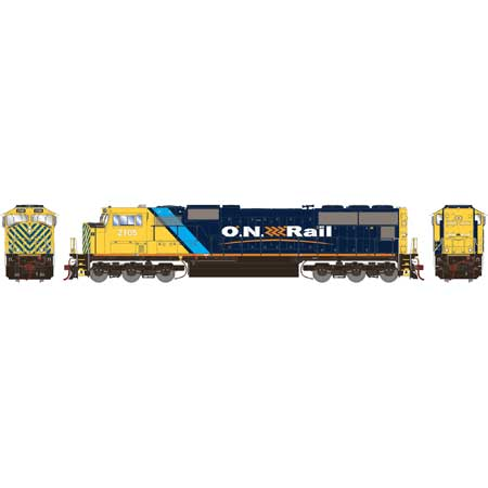 Athearn Genesis G69562 - HO SD751 - w/DCC and Sound - ON Rail #2105