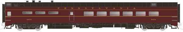 Rapido Trains 124053 HO Scale Pullman-Standard Lightweight Diner Pennsylvania #4489 Pre Order