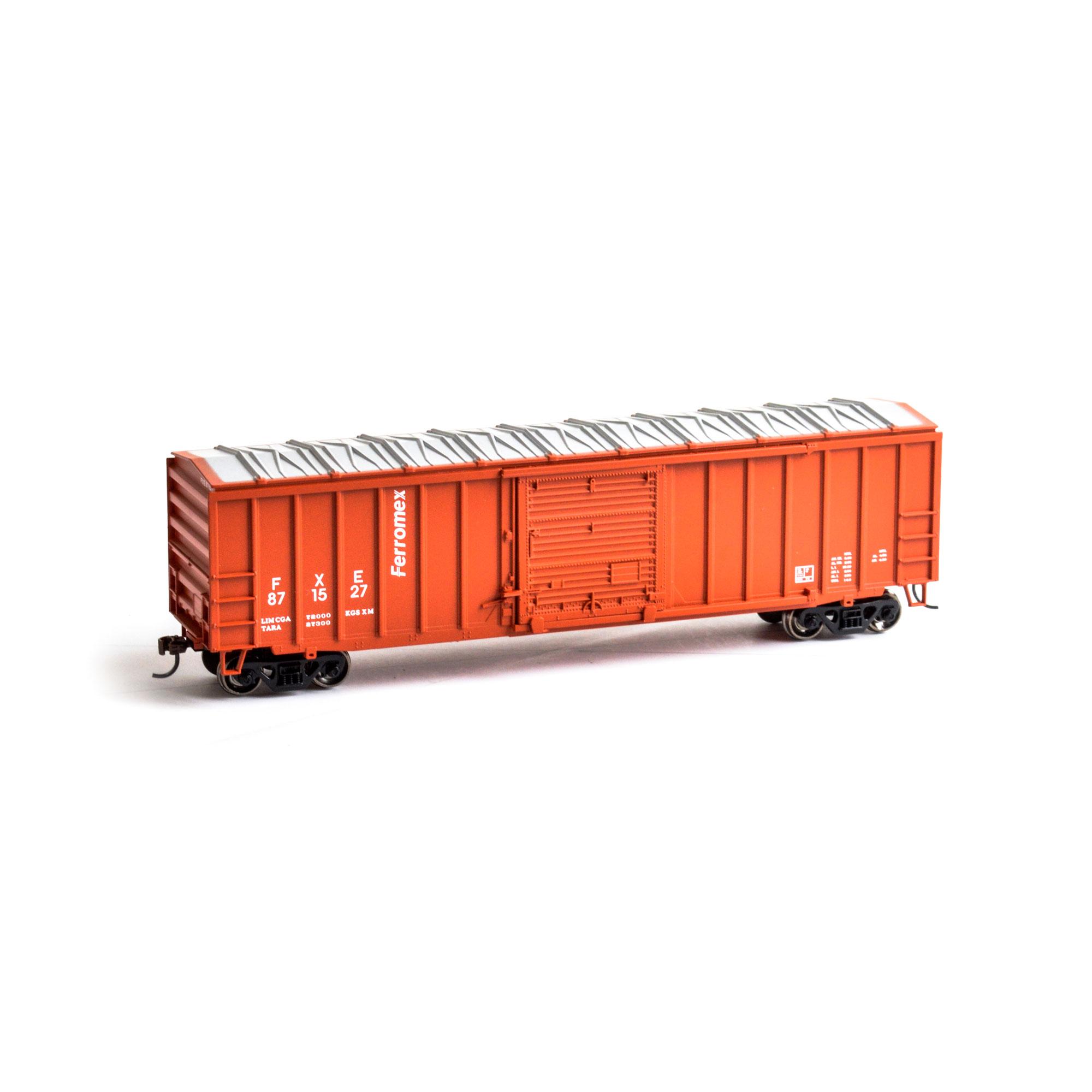Athearn RND HO 14827- 50 ft ACF OP Box - Ferromex #871516