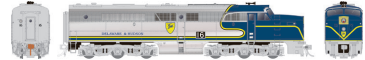 Rapido 23506 HO - PA-1 Single Locomotive - DCC & Sound - Delaware & Hudson #16