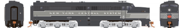 Rapido 23025 HO - PA-1 Single Locomotive - DCC Ready - NYC-P&LE #4207