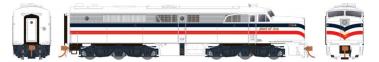 Rapido 23039 HO - PA-1 Single Locomotive - DCC Ready - American Freedom Train #1776