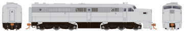 Rapido 23096 HO - PA-1 Single Locomotive - DCC Ready - Undecorated (Dynamic Brake)