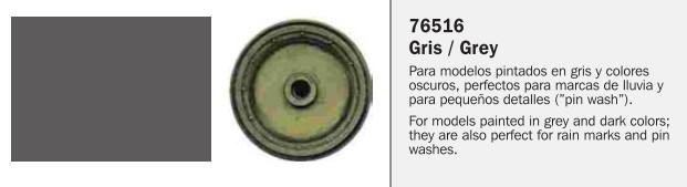 Vallejo 76.516 Model Wash for Grey Vehicles