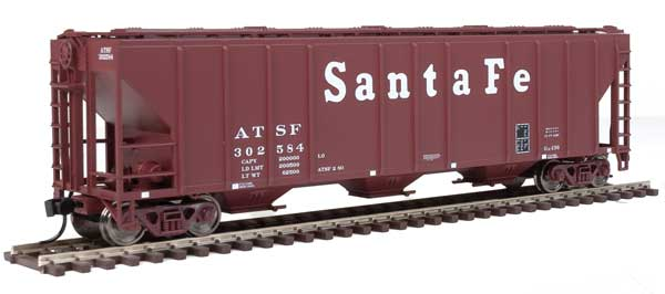 Walthers Mainline 54 Ps 4427 CD Covered Hopper Santa Fe 302584