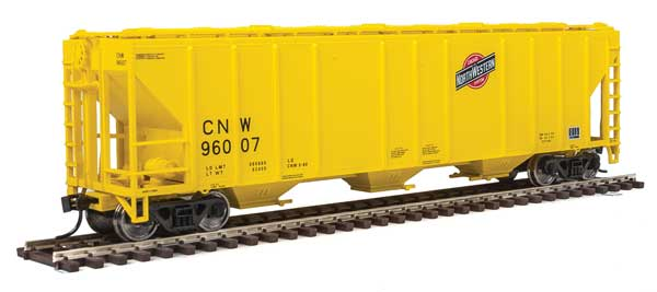 Walthers Mainline 54Ft Ps 4427 CD Covered Hopper Chicago & North Western No.96007