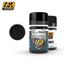 AK Interactive Pigments : black