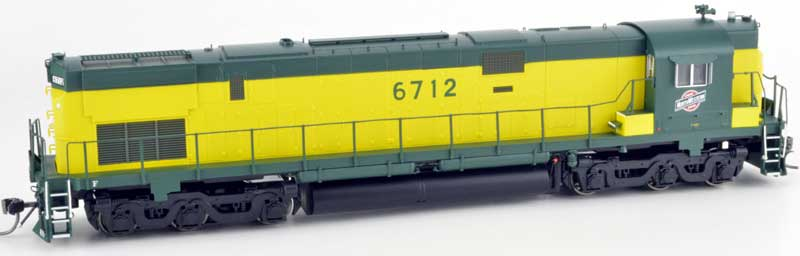 Bowser 24729 HO ALCo Century C-628 DC  Chicago and North Western No.6712