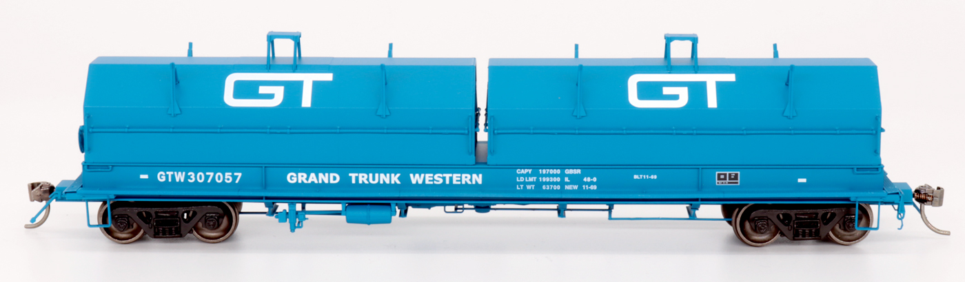 Intermountain Railway 32508-20 HO Scale Evans 100 Ton Coil Car Grand Trunk Western #307057