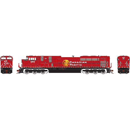 Athearn Genesis HO Scale SD90MAC-H Phase 2 DCC Ready Canadian Pacific #9303 -Pre Order