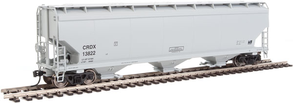 Walthers Mainline - 7620 HO 60 ft NSC 5150 3-bay Covered Hopper - CRDX #13884