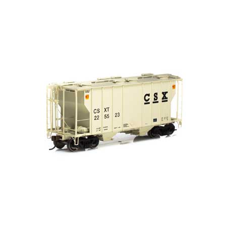 Athearn 63766 RTR HO - PS-2 2600 Covered Hopper - CSX #225531