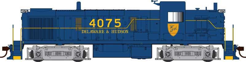 Bowser 42261 HO - RTR 55 Ton Fishbelly Hopper - Delaware & Hudson #2520