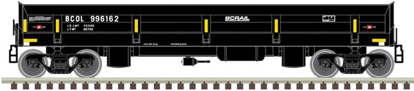 Atlas 50 004 577 N Scale Difco Side Dump Car - Ready to Run - Master  - BC Rail BCOL 996162