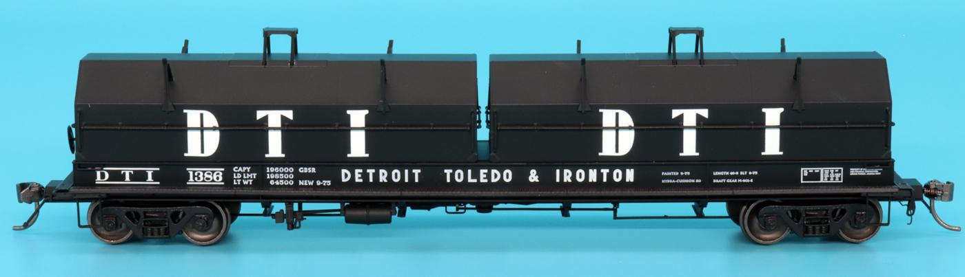 Intermountain Railway 32506-20 HO Scale Evans 100 Ton Coil Car Detroit Toledo & Ironton #1382