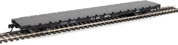 Walthers 5323 Mainline HO 60 Ft General-Purpose Flatcar - Elgin, Joliet & Eastern EJ&E #6073
