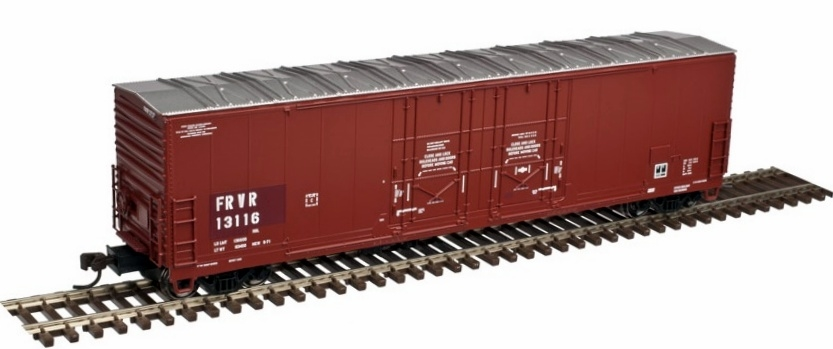 Atlas Model Railroad Master 53 Ft Evans Double Plug Door Box Car Fox River Valley #13116