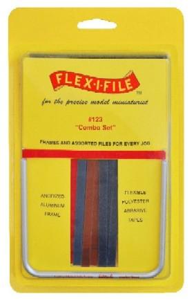 Flex-i-File 123 - Combo Set of Abrasive Files (18pcs)