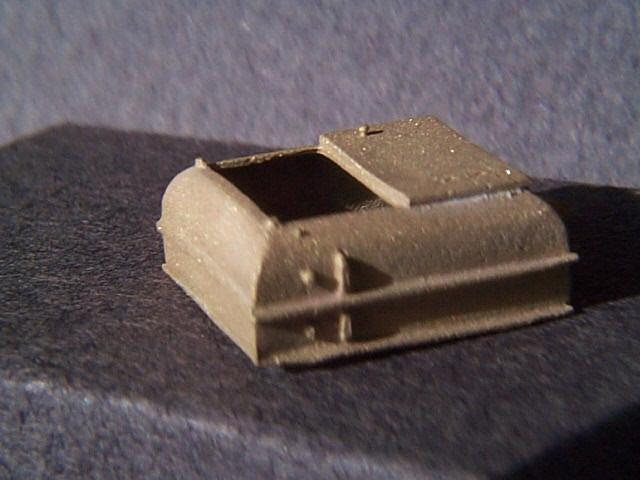 Miniatures By Eric H7 HO Scale parts - Brass CPR F Unit Winter Hatch