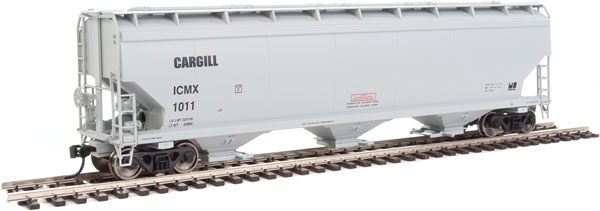 Walthers Mainline - 7616 HO 60 ft NSC 5150 3-bay Covered Hopper - Cargill ICMX #1071