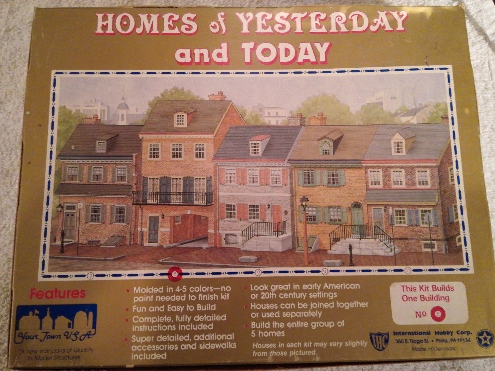 IHC. 100-9 HO Homes of Yesterday and Today Structure - building 9
