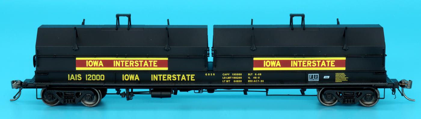 Intermountain Railway 32529-07 HO Scale Evans 100 Ton Coil Car Iowa Interstate #12000