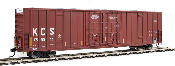 Walthers 2938 Mainline HO 60 Ft High Cube Plate F Boxcar-Kansas City Southern #759011