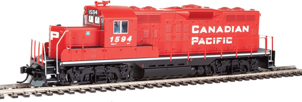 Walthers Mainline HO 20404 - EMD GP9 Ph 2 - DCC/Sound - Canadian Pacific #1594