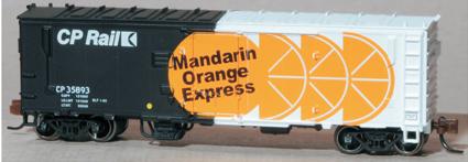 Eastern Seaboard Models N Scale 40 Ft Insulated Boxcar - CP Rail  35893