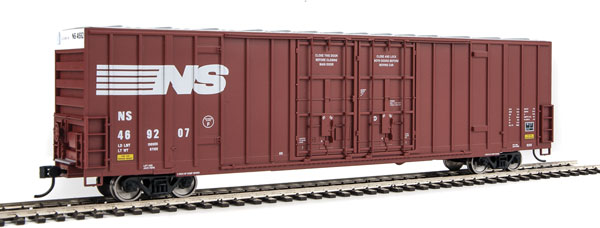 Walthers 2942 HO 60ft High Cube Plate F Boxcar Norfolk Southern #469207