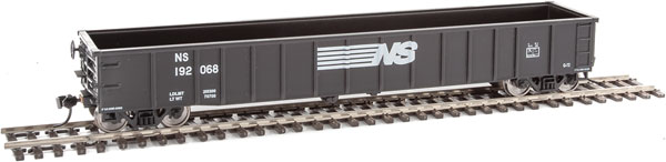 Walthers Mainline 6164 HO 53 Ft Thrall Smooth-Side Gondola -  Norfolk Southern NS 192048