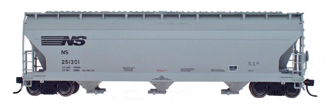 Intermountain 47053-07 HO RTR- ACF 4650 3-Bay Hopper - Norfolk Southern #251066