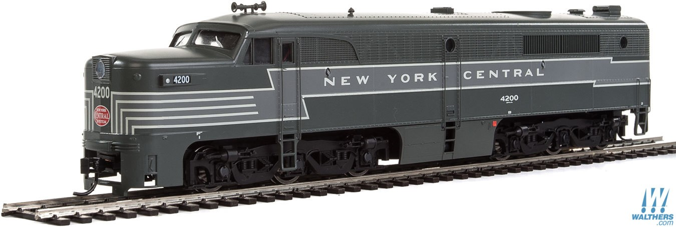 WalthersMainline 20089 HO Alco PA  - ESU Sound & DCC -- New York Central #4201