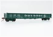 Rapido Trains 50040-E HO - 52 Ft 6 In Mill Gondola (Single Car) - Ontario Northland (Progressive) #5069