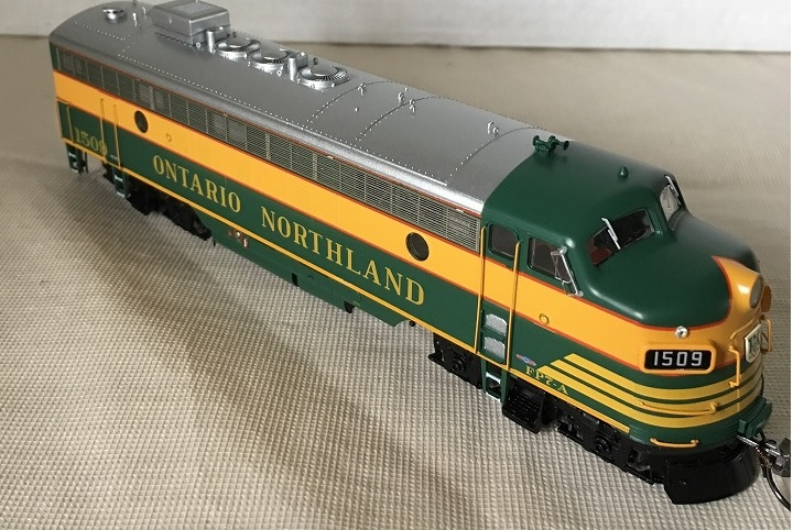 Rapido Trains 222524 -HO GMD FP7 - DCC/Sound - Ontario Northland (Early) #1505