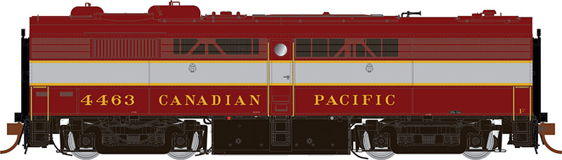 Rapido 22509 HO - DC/DCC/Sound - MLW FPB-2 Canadian Pacific #4464 - Pre-order