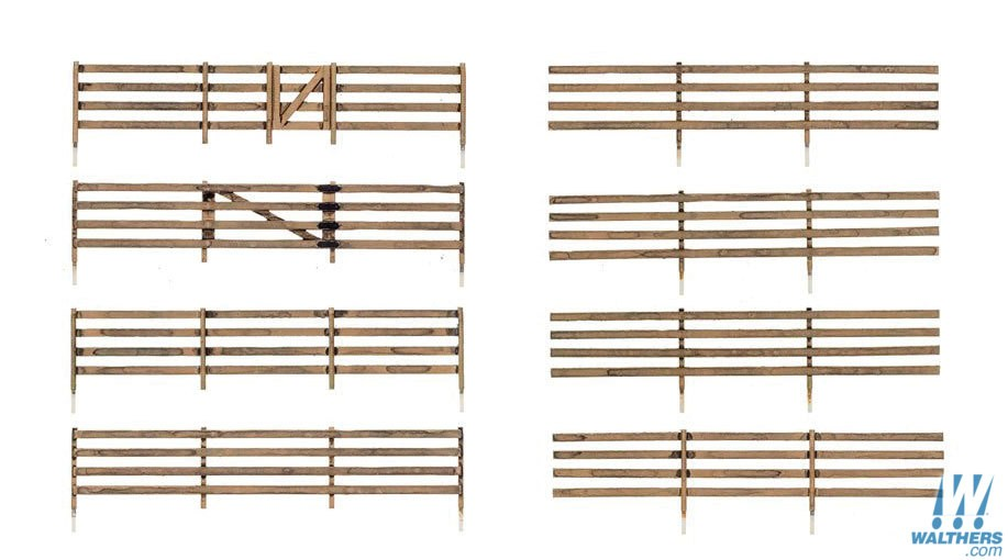 Woodland Scenics 2992 - N scale Rail Fence - Kit