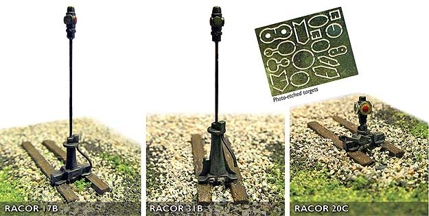 Rapido 320101 RailCrew HO Scale Switch Machine With Rotating Target