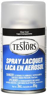 Testors 1261 Spray Lacquer - Clear/Gloss Coat